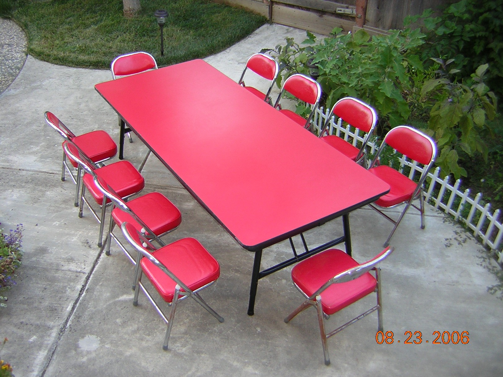 Kids Really Love This Colorful Party Table Set. Comes With Ten Kidu0027s  Chairs. Available In Blue And Red Color. Rate: $ 25.00 Free Delivery With  Jumper Rental